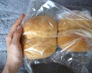 豚ほほ肉のブラウンシチュー パン