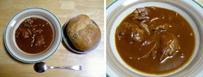豚ほほ肉のブラウンシチュー