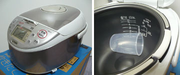 タイガー JKC-J100 炊飯器