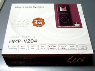 MP3プレーヤー HMP-V204 (B)